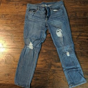 Ann Taylor Loft  Modern Crop Jeans